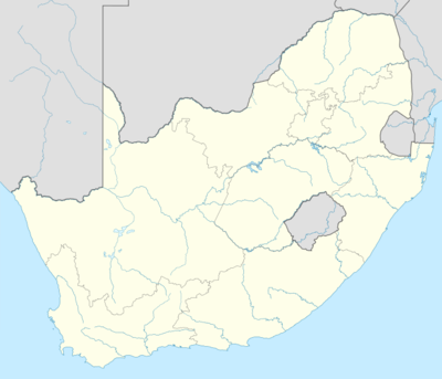 Location map South Africa